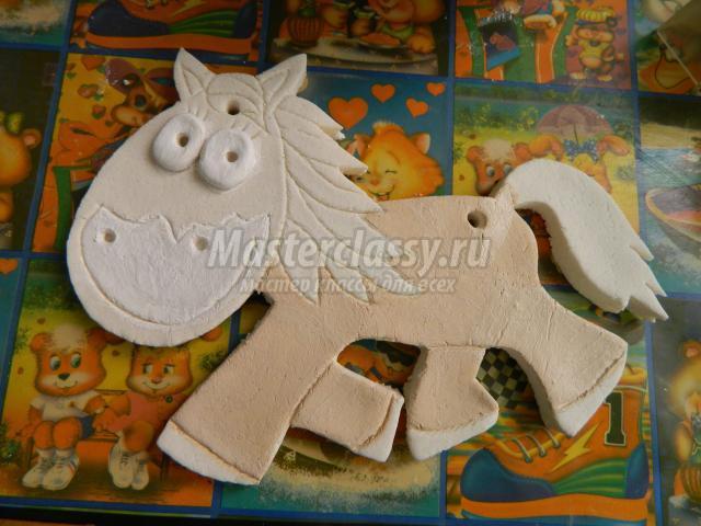 Поделки с лошадкой из соленого теста