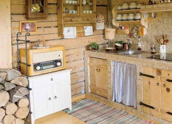 Кухня кантри своими руками фото