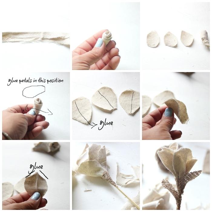 Розы из ткани. Красивая идея с фото мастер-классом (4) (700x700, 233Kb)