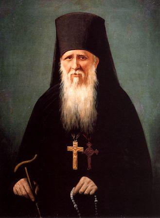 Преподобный Амвросий (Гренков), старец Оптиной пустыни (329x450, 18Kb)