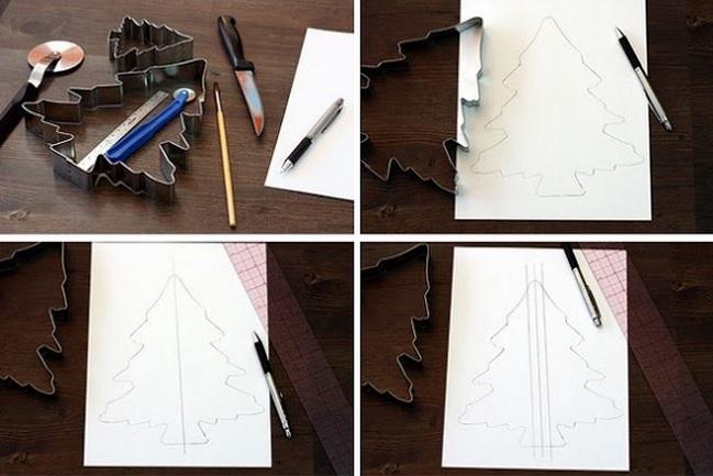 Имбирное печенье 3D - Новогодние елочки и мини домики на кружку (1) (649x433, 149Kb)