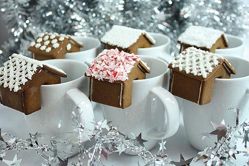 Имбирное печенье 3D - Новогодние елочки и мини домики на кружку (5) (500x333, 166Kb)