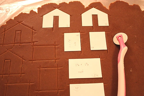 Имбирное печенье 3D - Новогодние елочки и мини домики на кружку (9) (500x333, 125Kb)