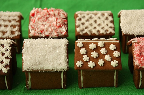 Имбирное печенье 3D - Новогодние елочки и мини домики на кружку (13) (500x333, 157Kb)