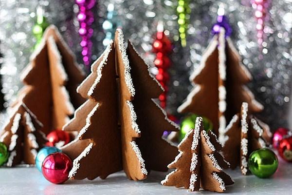 Имбирное печенье 3D - Новогодние елочки и мини домики на кружку (23) (600x400, 187Kb)