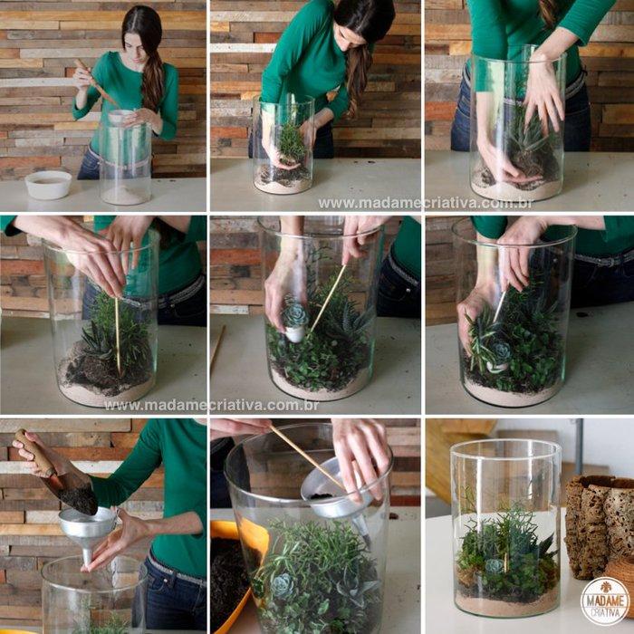 Как сделать стеклянную бутылку в домашних условиях