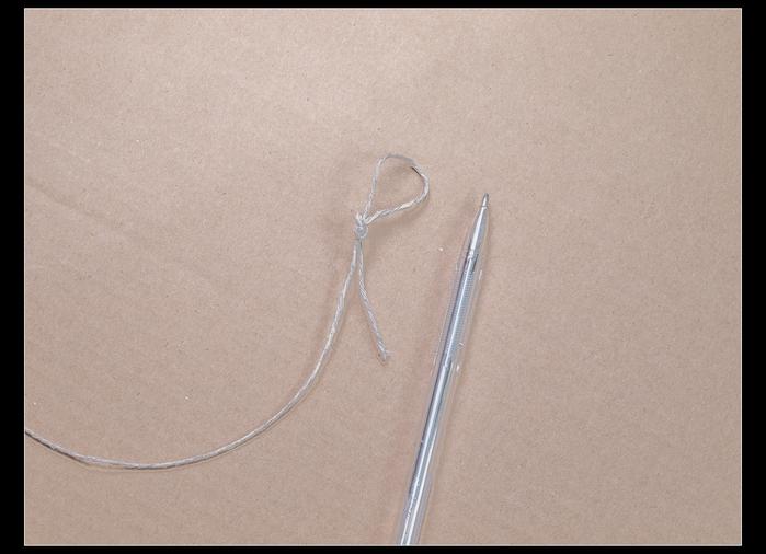 Веер своими руками из картона и бумажных трубочек (5)