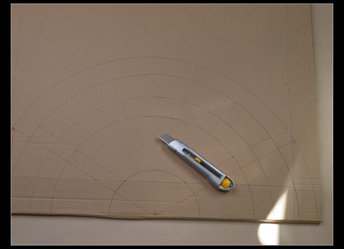ВЕЕР из картона и газетных трубочек. Много идеи и мастер-класс (32) (700x506, 175Kb)