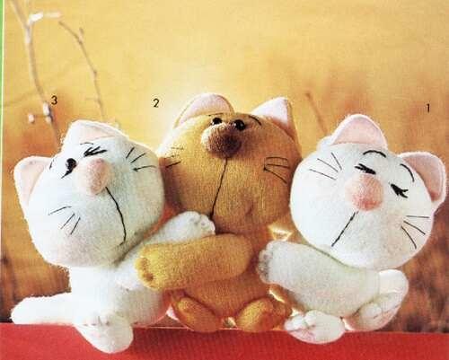 Costure brinquedos para as crianças.  Padrões (3) (500x401, 81Kb)