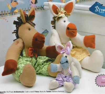 Costure brinquedos para as crianças.  Padrões (20) (400x360, 78Kb)