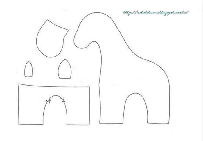 Costure brinquedos para as crianças.  Padrões (47) (700x486, 48Kb)