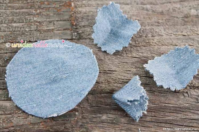 Декорирование предметов джинсовой тканью и полосками трикотажа (7) (700x466, 301Kb)