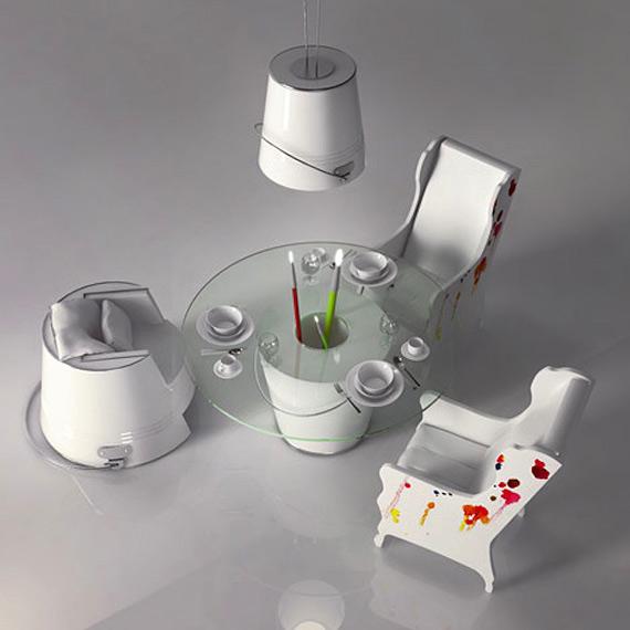 креативный дизайн интерьера фото 3 (570x570, 132Kb)