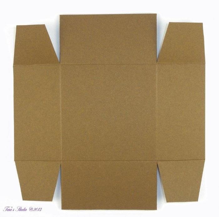 Скрапбукинг. Очень красивая коробочка (5) (700x691, 228Kb)
