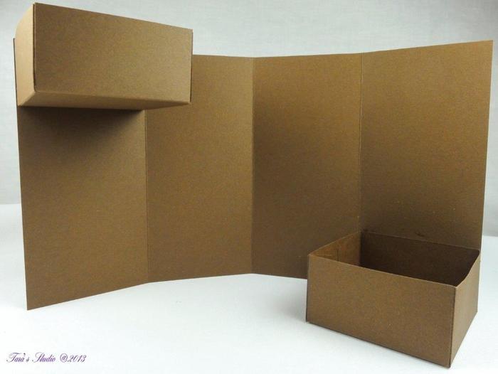 Скрапбукинг. Очень красивая коробочка (9) (700x526, 193Kb)