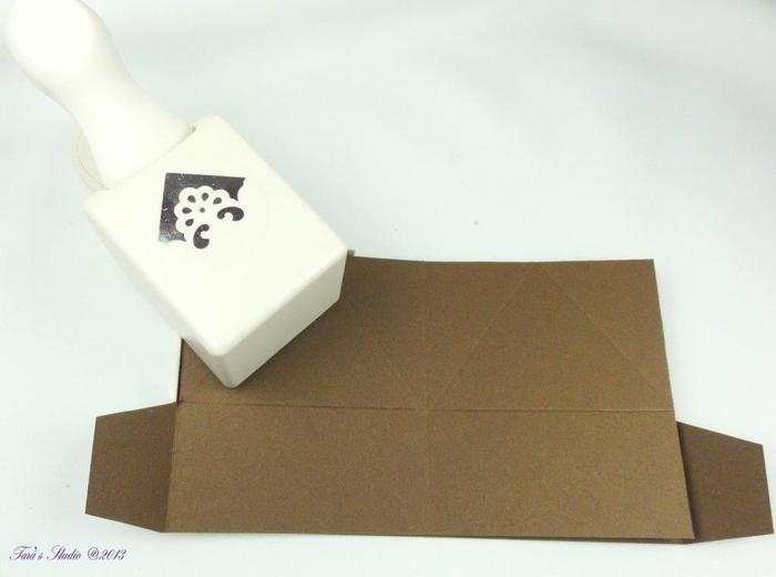 Скрапбукинг. Очень красивая коробочка (15) (700x520, 141Kb)