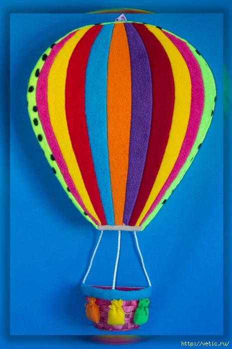 Смотреть как сделать воздушный шар своими руками