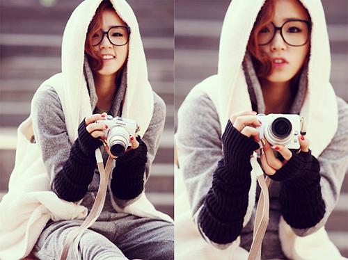 кореянки с очками фото