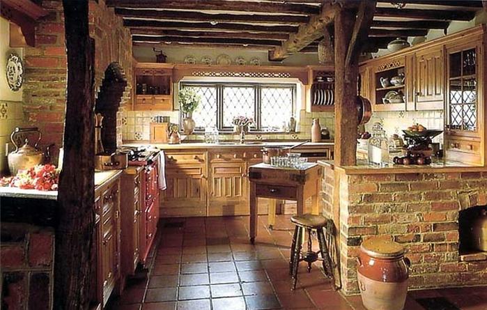 кухня в стиле кантри (2) (700x445, 275Kb)