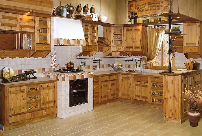 кухня в стиле кантри (4) (700x471, 323Kb)