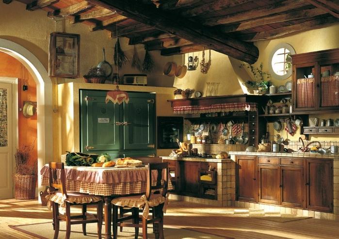 кухня в стиле кантри (6) (700x494, 297Kb)