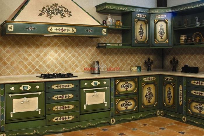 кухня в стиле кантри (10) (700x466, 272Kb)