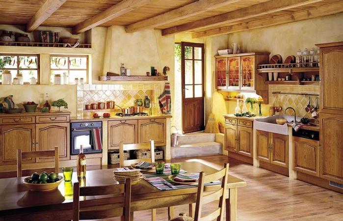 кухня в стиле кантри (12) (700x450, 266Kb)