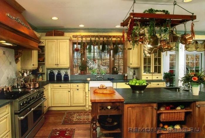кухня в стиле кантри (20) (700x470, 265Kb)