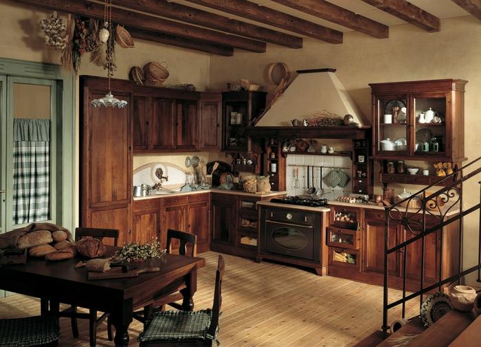 кухня в стиле кантри (22) (700x505, 291Kb)