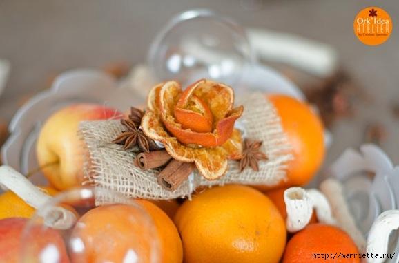 Розочки и подвески из апельсиновых корок (1) (578x382, 115Kb)