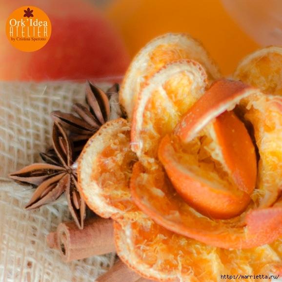 Розочки и подвески из апельсиновых корок (3) (578x578, 192Kb)