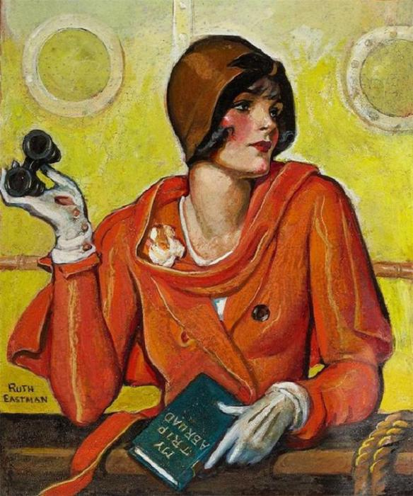 Ruth Eastman, американский художник-иллюстратор. (584x700, 75Kb)