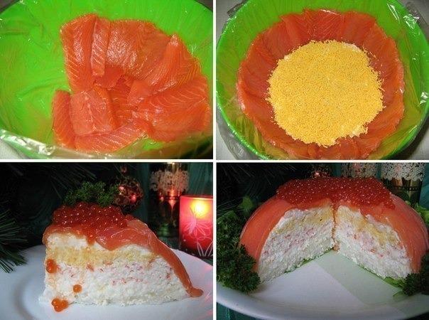 рыбный торт (604x450, 249Kb)