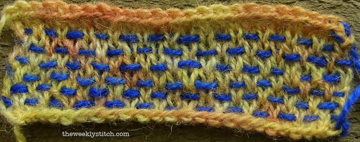Шведское вязание спицами