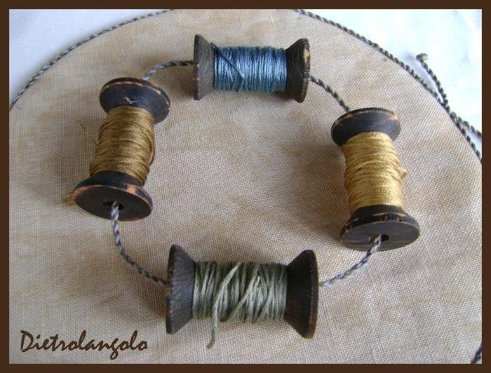 Стильная игольница из льна с вышивкой. Фото мастер-класс (15) (700x532, 291Kb)