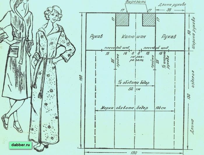 как сшить халат своими руками - Самое интересное в блогах