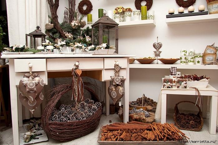 Изготовление предметов интерьера из природного материала своими руками
