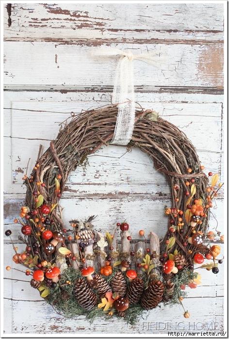 Красивые идеи для декора из природных материалов (34) (472x700, 347Kb)