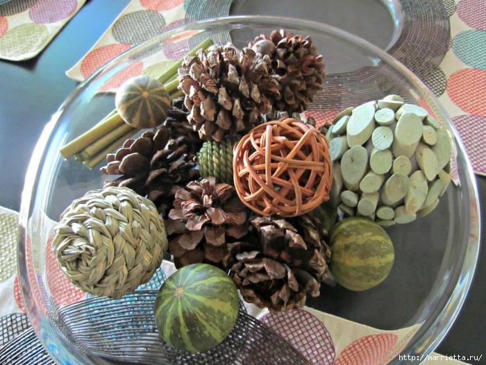 Красивые идеи для декора из природных материалов (69) (700x526, 352Kb)