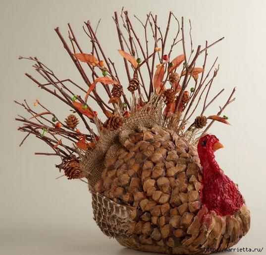 Красивые идеи для декора из природных материалов (104) (537x514, 185Kb)