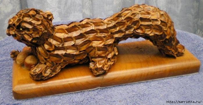 Красивые идеи для декора из природных материалов (105) (700x361, 207Kb)