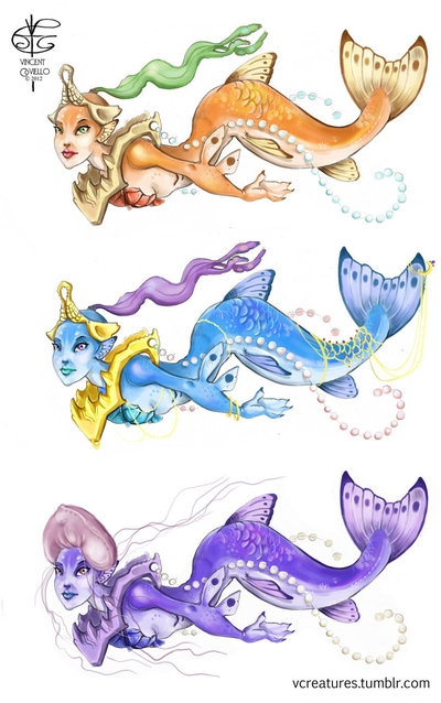 cartoony_mermaids_by_v4m2c4-d61084u (400x638, 160Kb)