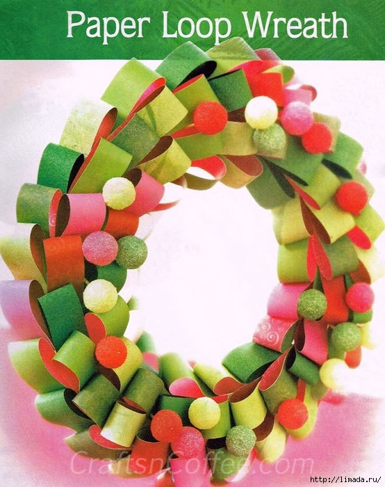 diy-paper-christmas-wreath (554x700, 313Kb)