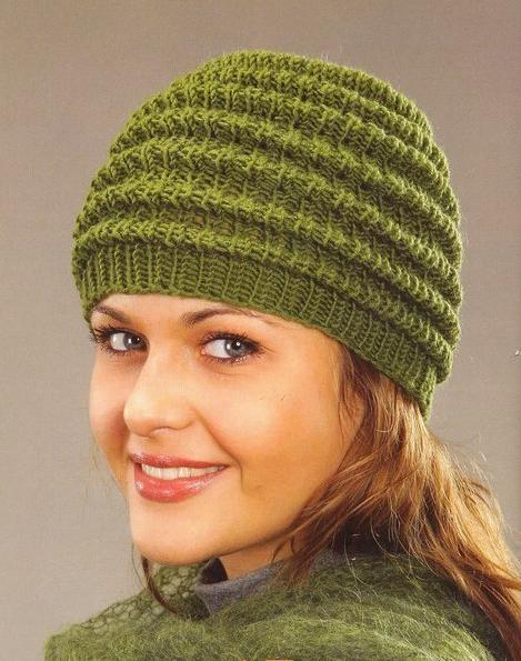 Вязание и схемы женских шапок