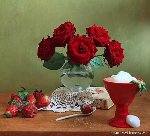 Фото цветы и мороженое