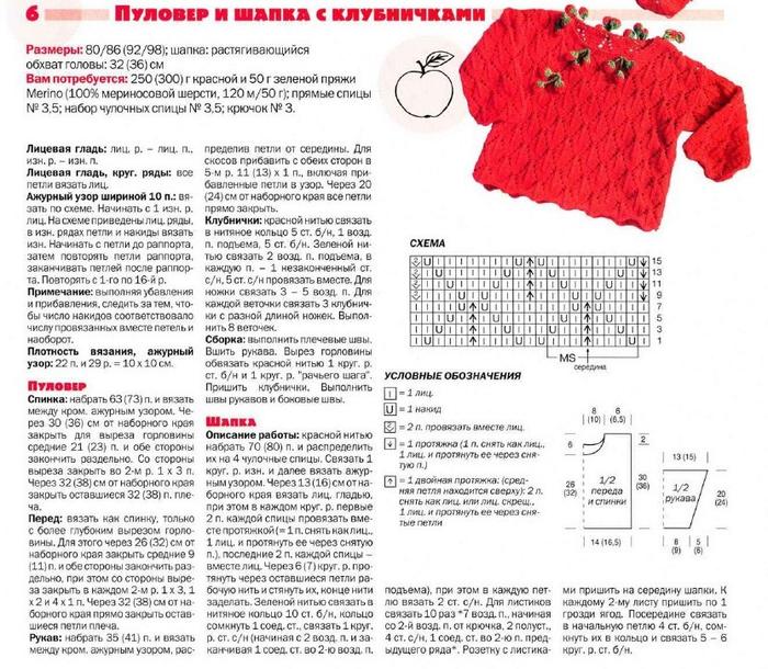 Журналы вязания для детей спицами со схемами и описанием