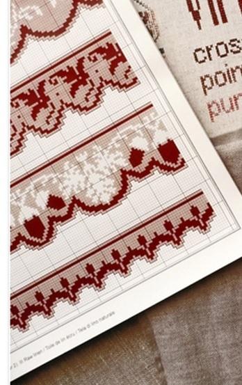 вышивка крестиком, с желудями (9) (348x553, 148Kb)