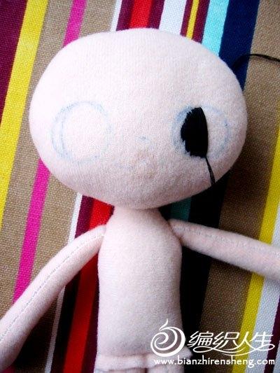 Шьем игрушки. Куколка КОШКА (7) (400x533, 129Kb)