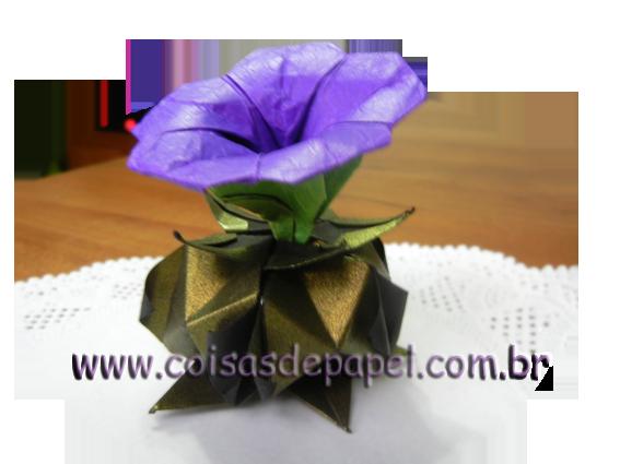 Цветы оригами из бумаги.