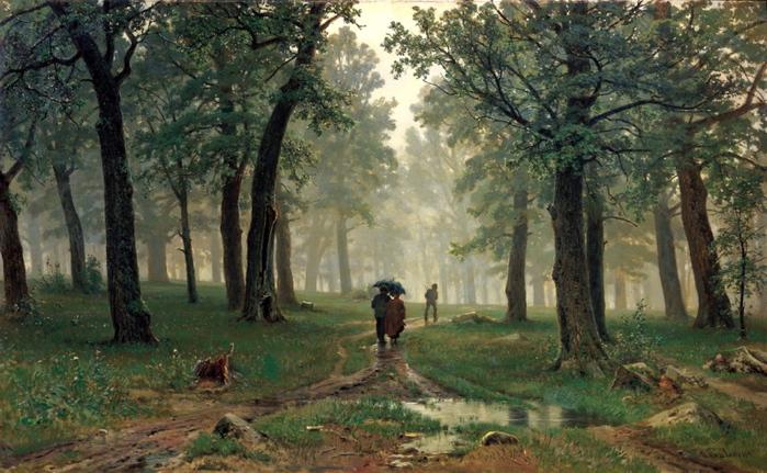 Иван Шишкин. Дождь в дубовом лесу/3241858_schischkin (700x431, 210Kb)